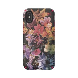 Калъф Speck iPhone XS PRESIDIO INKED - DIGITAL FLORAL - CERISE RED