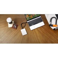 Външен диск Lacie 1TB Mobile Drive USB 3.1 USB-C - Moon Silver