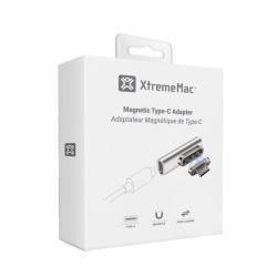 Магнитен преходник XtremeMac Magnetic USB-C - Silver