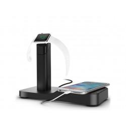 Стойка за зареждане Griffin Powered Apple Watch и iPhone - Black