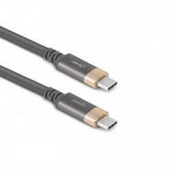 Кабел за монитор Moshi USB-C Monitor Cable - Gray/Gold