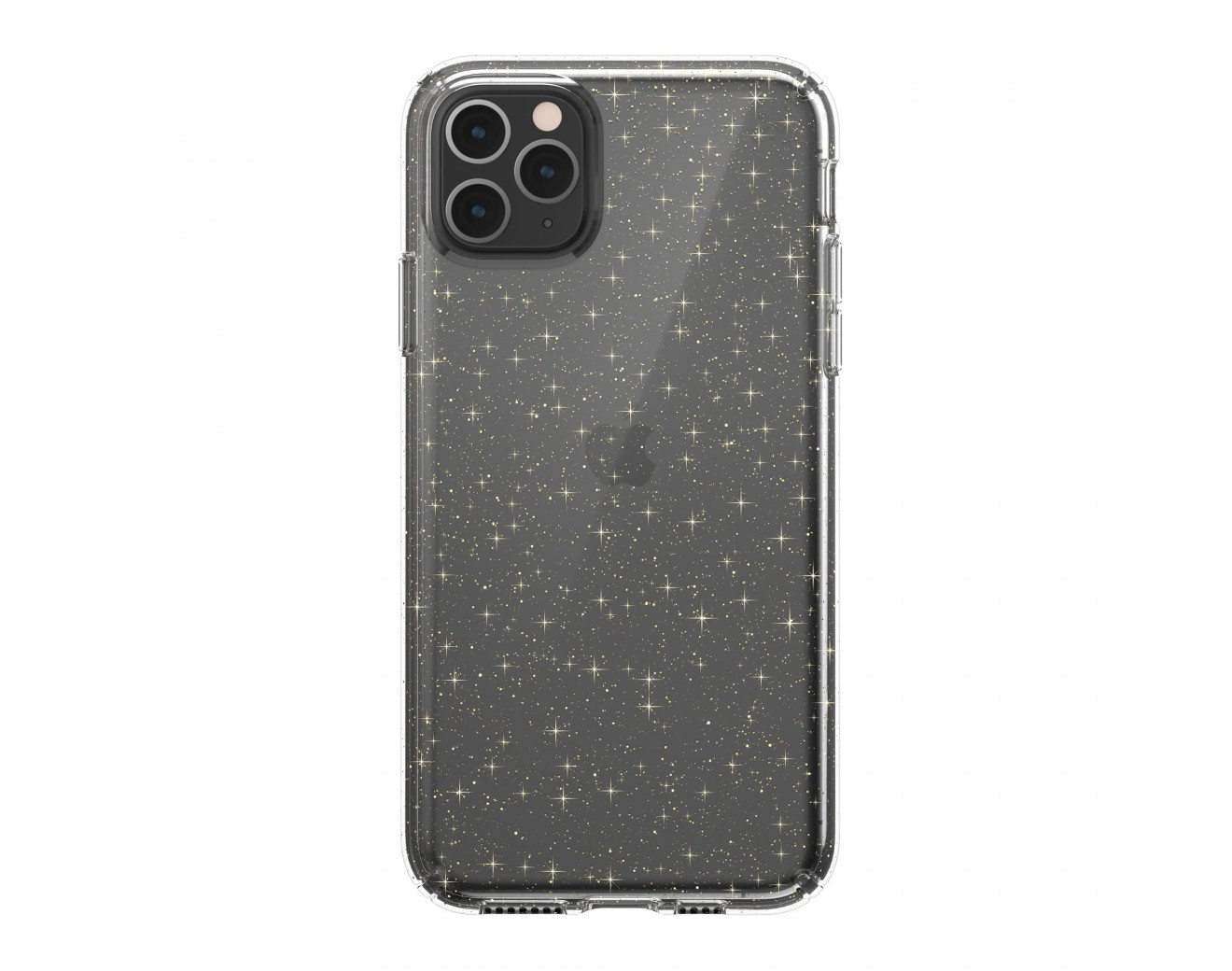 Калъф Speck Presidio Glitter за iPhone 11 Pro Max - Clear/Gold