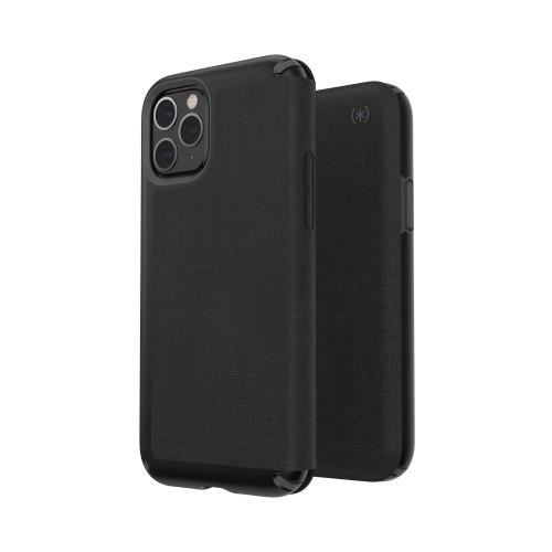 Калъф Speck Presidio Folio за iPhone 11 Pro - Black/Slate Grey