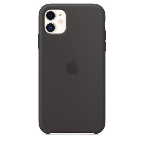 Силиконов калъф Apple iPhone 11 Silicone Case - Black