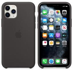 Силиконов калъф Apple iPhone 11 Pro Silicone Case - Black