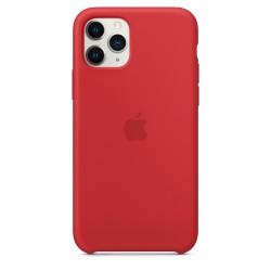Силиконов калъф Apple iPhone 11 Pro Silicone Case - (PRODUCT)RED