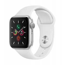 Часовник Apple Watch Series 5 Sport Band 40mm - Silver/White