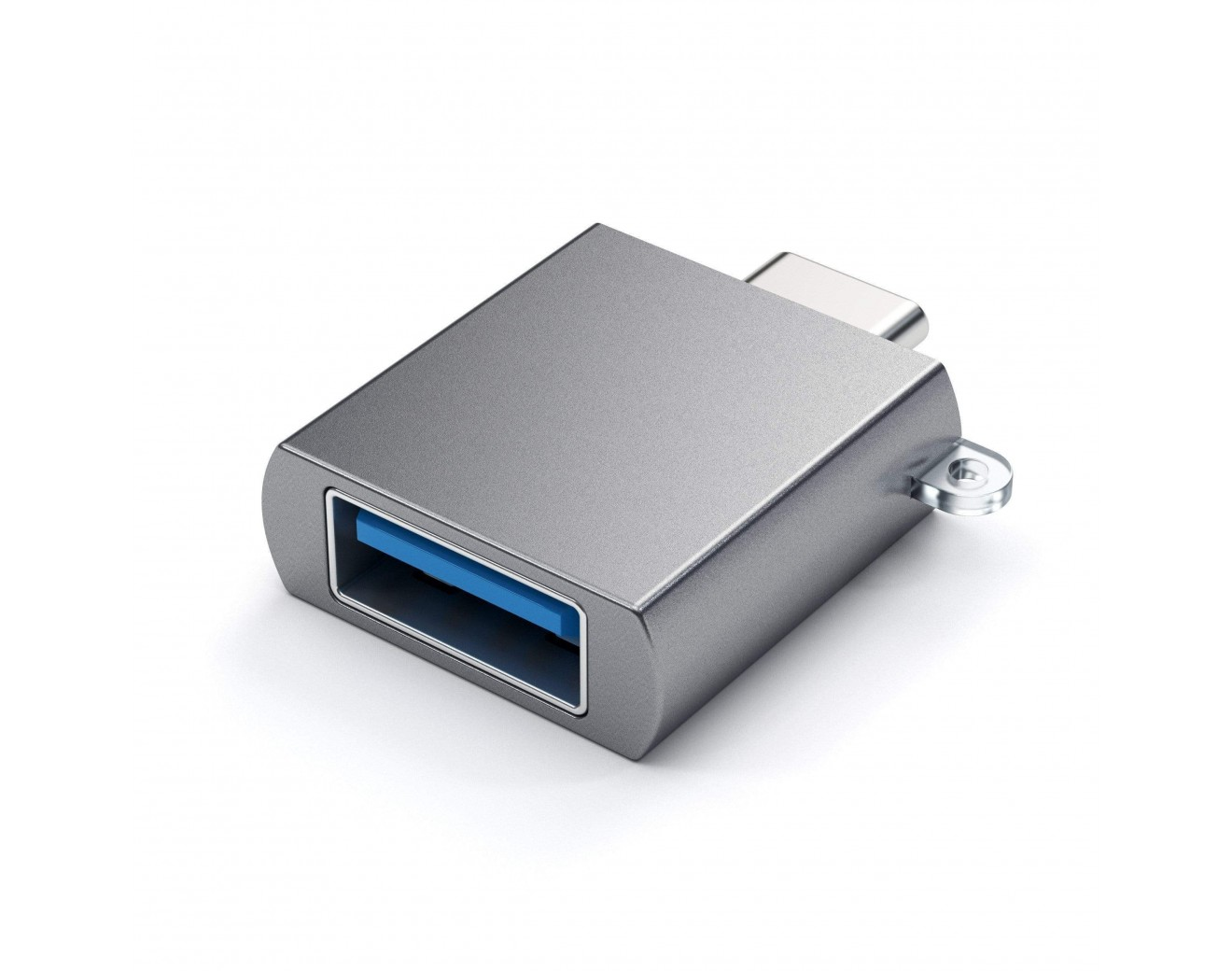 Адаптор Satechi Type-C - Type A USB Adapter - Space Grey