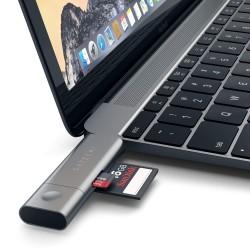 Четец за SD карта Satechi Aluminum Type-C USB 30 and Micro/SD