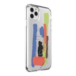 Калъф Speck iPhone 11 Presidio Clear + Print за Pro Max -
