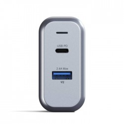 Зарядно Satechi 30W Dual-Port Wall Charger - EU - Space Gray