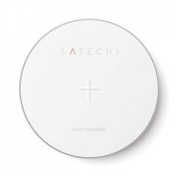 Зарядно Satechi Aluminim Fast Wireless Charger - Silver
