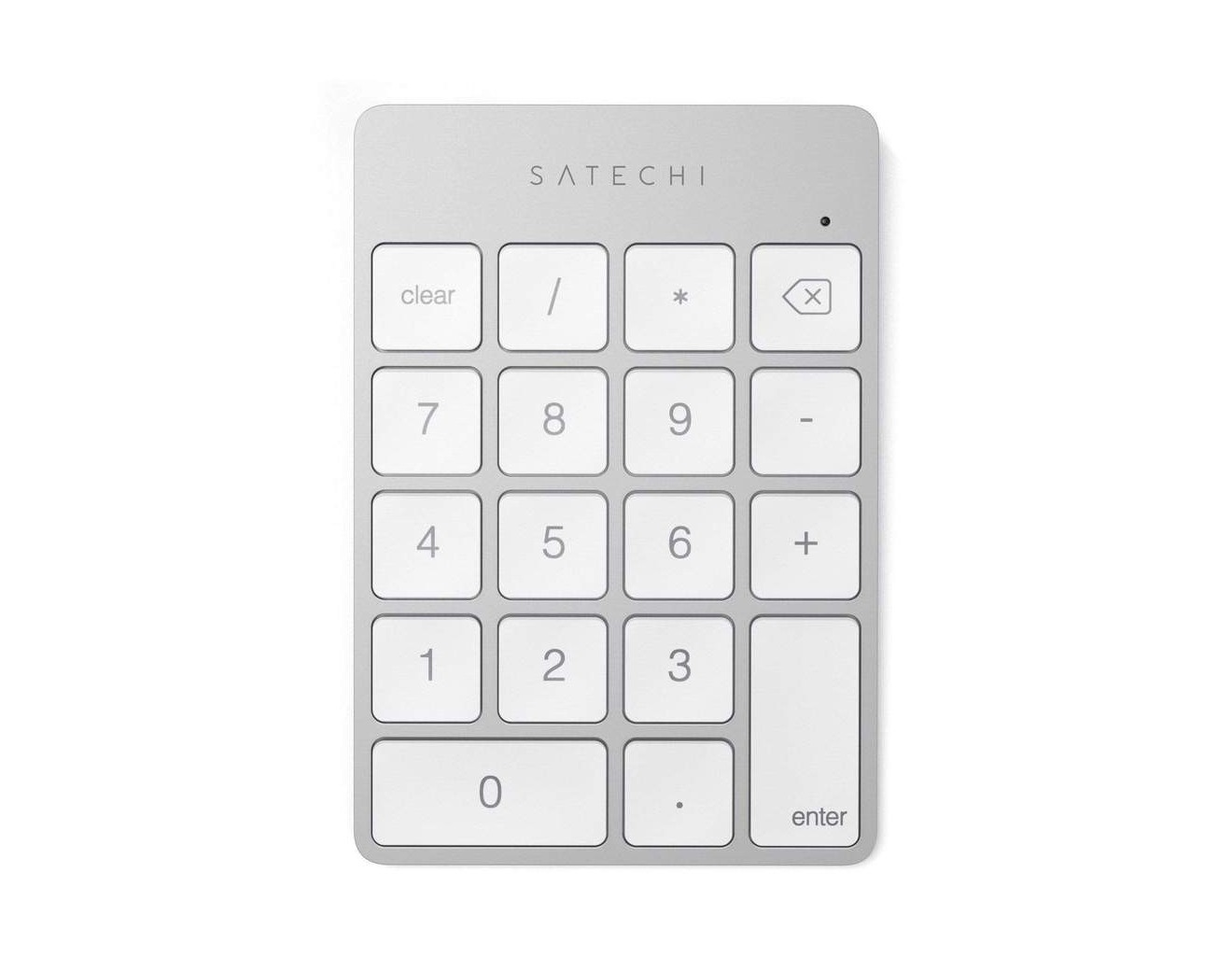 Клавиатура Satechi Aluminum Slim Wireless Keypad - Silver