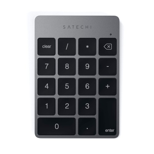 Клавиатура Satechi Aluminum Slim Wireless Keypad - Space Grey