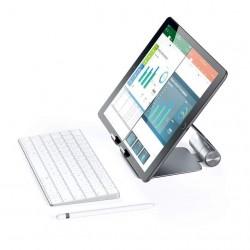 Стойка Satechi Aluminium R1 Adjustable Mobile Stand - Space Gray