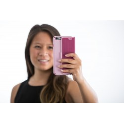 Калъф Speck CandyShell Wrap за iPhone 6/6S - Rose Pink/Cabernet