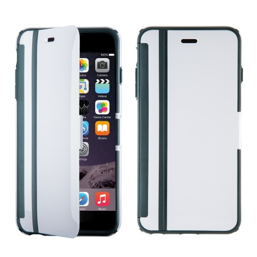 Калъф Speck CandyShell Wrap за iPhone 6/6S - White/ Charcoal Grey