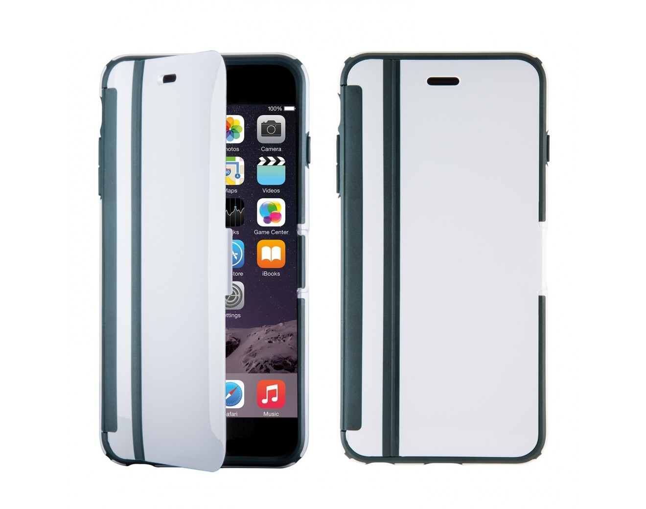 Калъф Speck CandyShell Wrap за iPhone 6/6S - White/ Charcoal