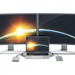 Хъб Satechi Aluminium TYPE-C PRO Hub (HDMI