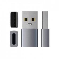 Адаптер Satechi Aluminum Type-A to TYPE-C Adapter - Space Gray