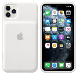 Калъф батерия Apple iPhone 11 Pro Max Smart Battery Case - White