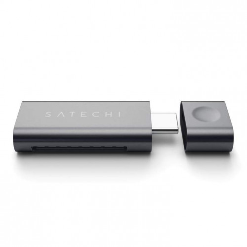 Четец за SD карта Satechi TYPE-C USB Card Reader - Space Gray