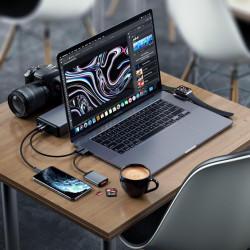 Заряно за Apple Watch SATECHI USB-C MAGNETIC CHARGING DOCK -