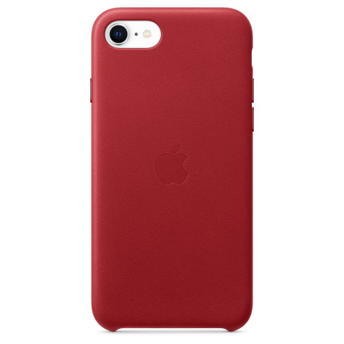 Калъф Apple iPhone SE, iPhone 8, iPhone 7, Leather Case - (PRODUCT) RED