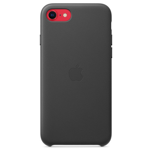 Калъф Apple iPhone SE, iPhone 8, iPhone 7, Leather Case - Black