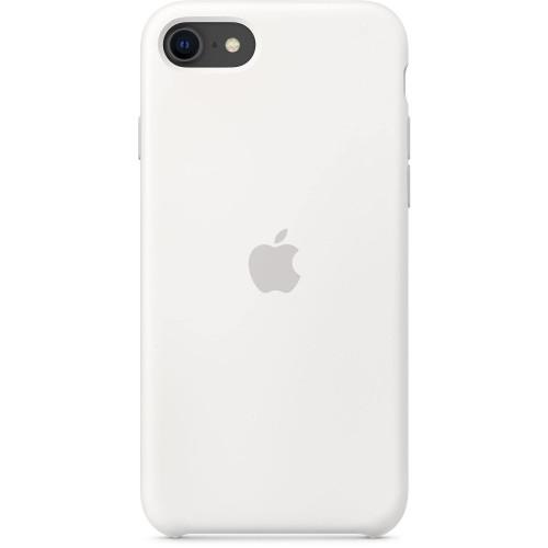 Силиконов калъф Apple iPhone SE, iPhone 8, iPhone 7 Silicone Case - White