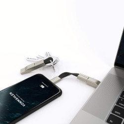 Кабел Vonmahlen High Five Signature 5in1 Charging Cable - Black