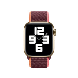 Каишка Apple Watch, 42 - 44mm, Sport Loop - Plum