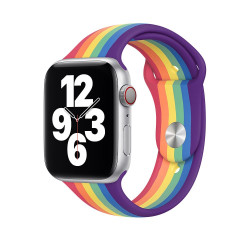 Каишка Apple Watch, 42 - 44mm, Pride Edition Sport Band, Regular