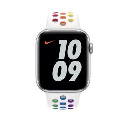 Каишка Apple Watch, 42 - 44mm, Pride Edition Nike Sport Band