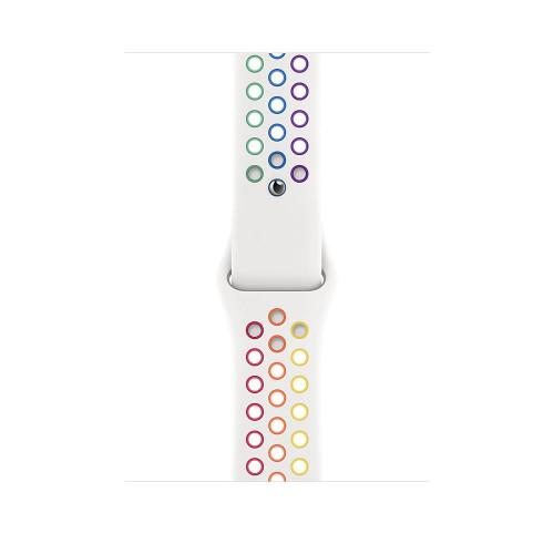 Каишка Apple Watch, 42 - 44mm, Pride Edition Nike Sport Band, Regular