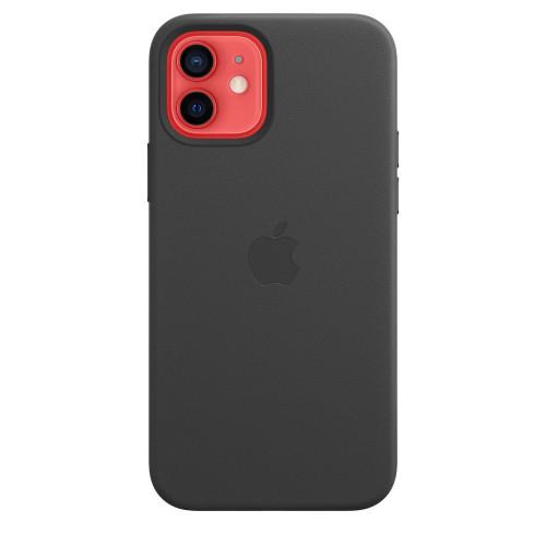 Кожен калъф Apple iPhone 12/12 Pro Leather Case with MagSafe, Black