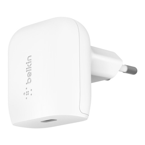 Зарядно Belkin BOOST_CHARGE USB-C Wall Charger 18W - White