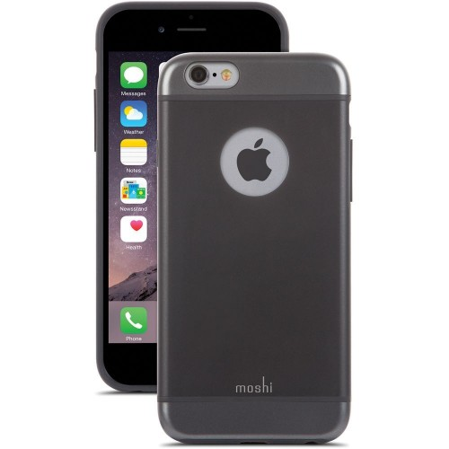 Калъф Moshi iGlaze за iPhone 6S - Graphite Black