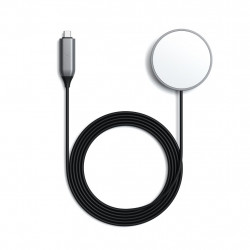 Зарядно за iPhone Satechi Magnetic Wireless Charging Cable -