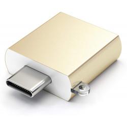 Адаптор Satechi Type-C - Type A USB Adapter - Gold