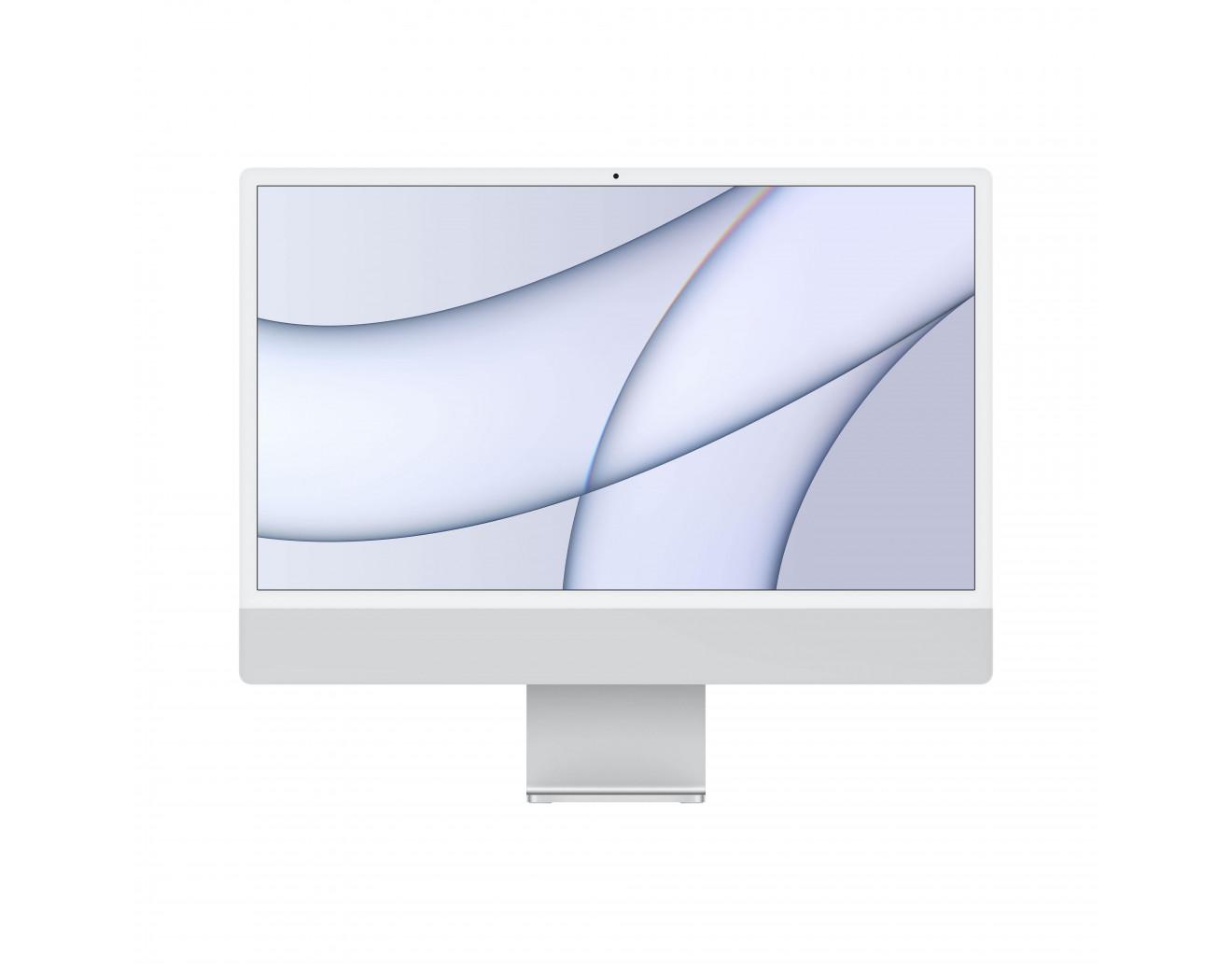 """iMac 24"""" /8C CPU/7C GPU/8GB/256GB, Silver (2021)"""