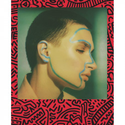 Цветен филм Polaroid i-Type - Keith Haring Edition