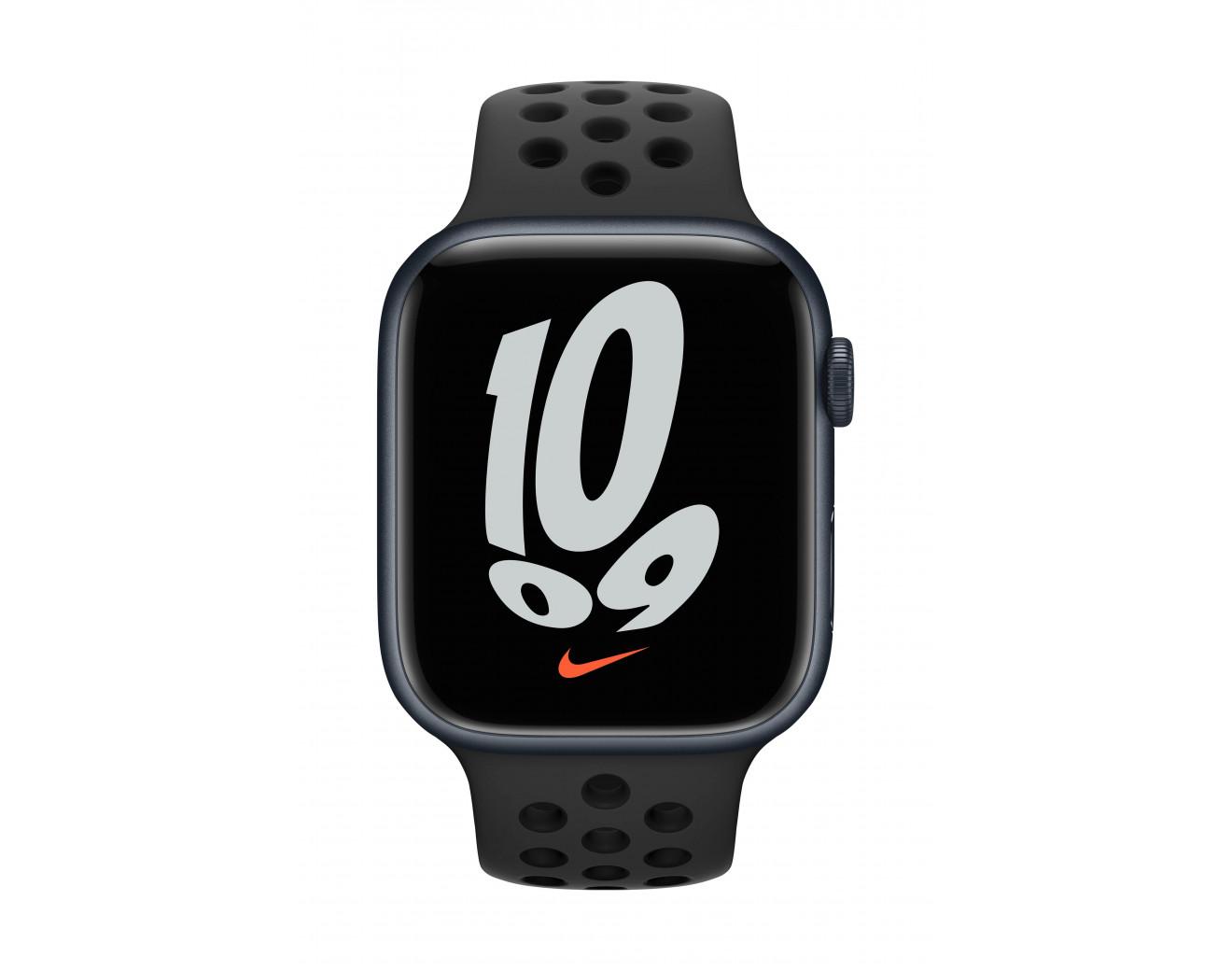 Часовник Apple Watch Nike Series 7 GPS Sport Band 45mm