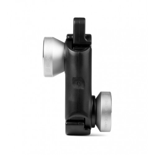 Обектив Olloclip 4 in 1 iPhone 6 / 6 Plus - Black-Silver