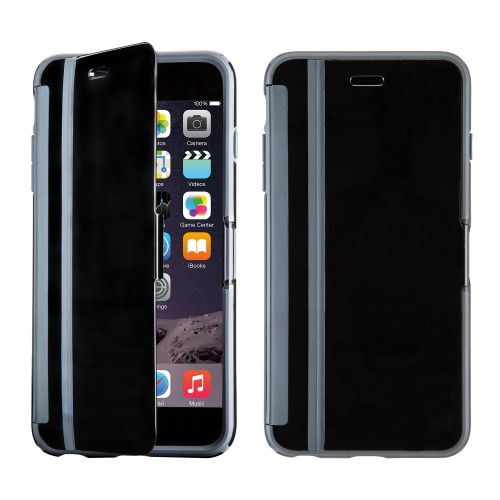 Калъф Speck CandyShell Wrap за iPhone 6/6S Plus - Black / Slate Grey