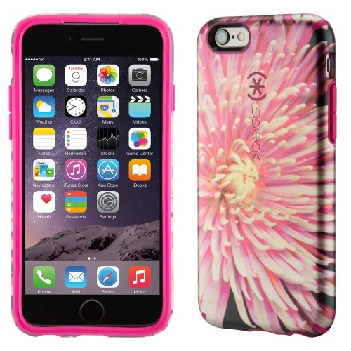 Калъф Speck CandyShell Inked Luxury Edition за iPhone 6/6S Plus - Hypnotic Bloom / Fuchsia Pink
