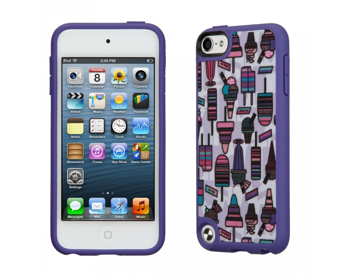 Калъф SPECK FabShell iPod Touch 5th / 6th Gen. - Ice Dreaming Purple