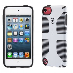 Калъф SPECK CandyShell GRIP iPod Touch 5th / 6th Gen. - White-Black