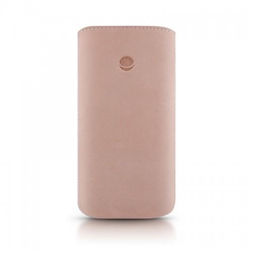 Кожен калъф BEYZA RetroStrap Plus Leather Case iPhone SE (5S) - Pink