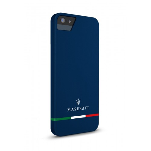 Калъф Maserati Line iPhone SE (5S) - Blue
